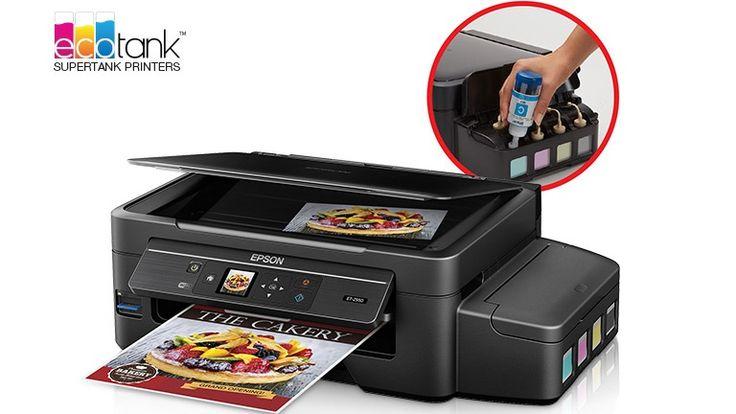 Deux ans sans acheter d'encre avec les imprimantes EcoTank d'Epson…