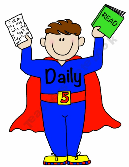 Daily 5 Super Kids-FREEBIE for Bulletin Boards