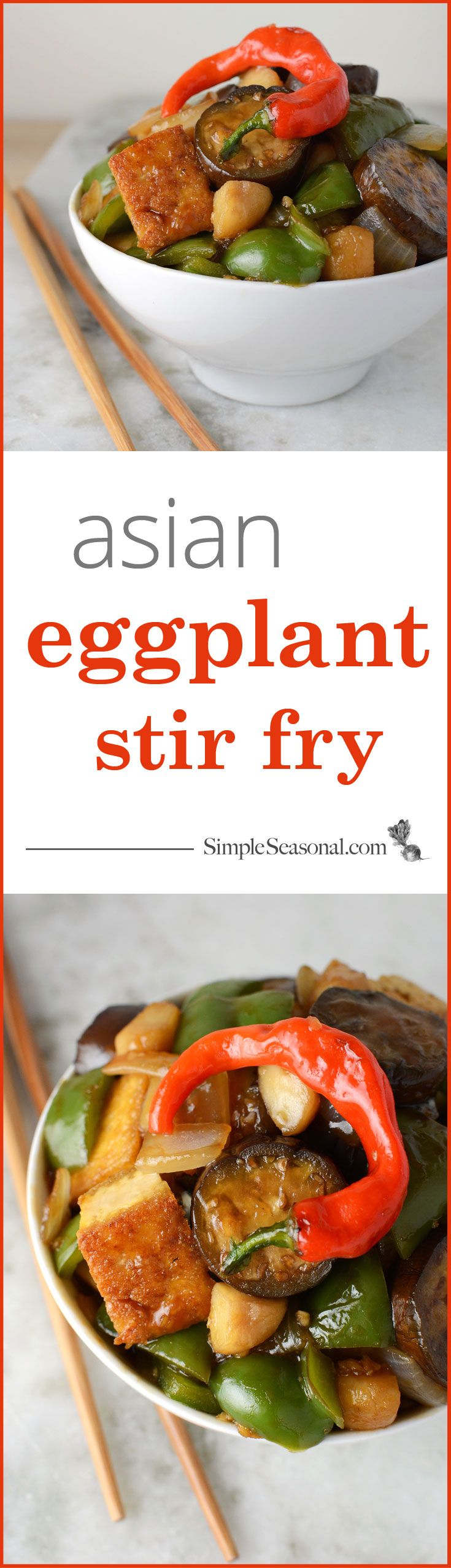 Asian Eggplant Stir Fry - Japanese eggplant shines in this tasty Asian ...