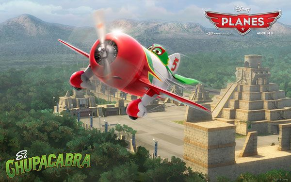 Disneys Planes Movie Wallpaper El Chupacabra Disney Planes 2013 Movie Wallpapers, Facebook Cover Photos & Character Icons