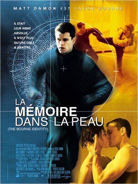 Doug Liman : La Mémoire dans la Peau. Jason Bourne il est trop fort. Relativement réaliste, mais quand même.