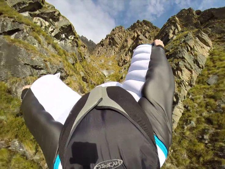 Wingsuiting in New Zealand - Adventure Videos