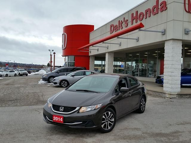 Pre-owned 2014 Honda Civic Sedan EX for sale in Orillia for $18,599. 42,300 Km.