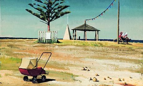 Holiday Resort, 1946, by Jeffrey Smart. Photograph: Art Gallery of South Australia