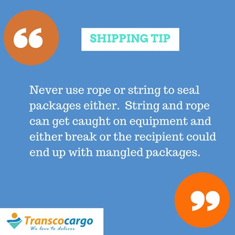 Here's a ‪#‎shippingtip‬ from the experts at ‪#‎TranscoCargo‬