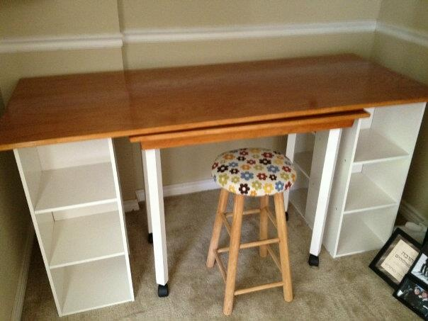 Kitchen Table With Storage Roll
