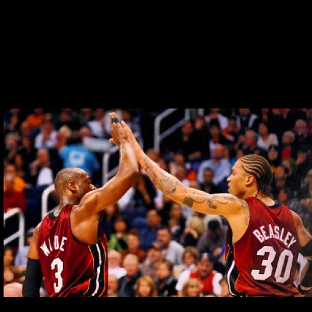 Dwyane Wade Shares His Support for Michael Beasley on Instagram | Bleacher Report