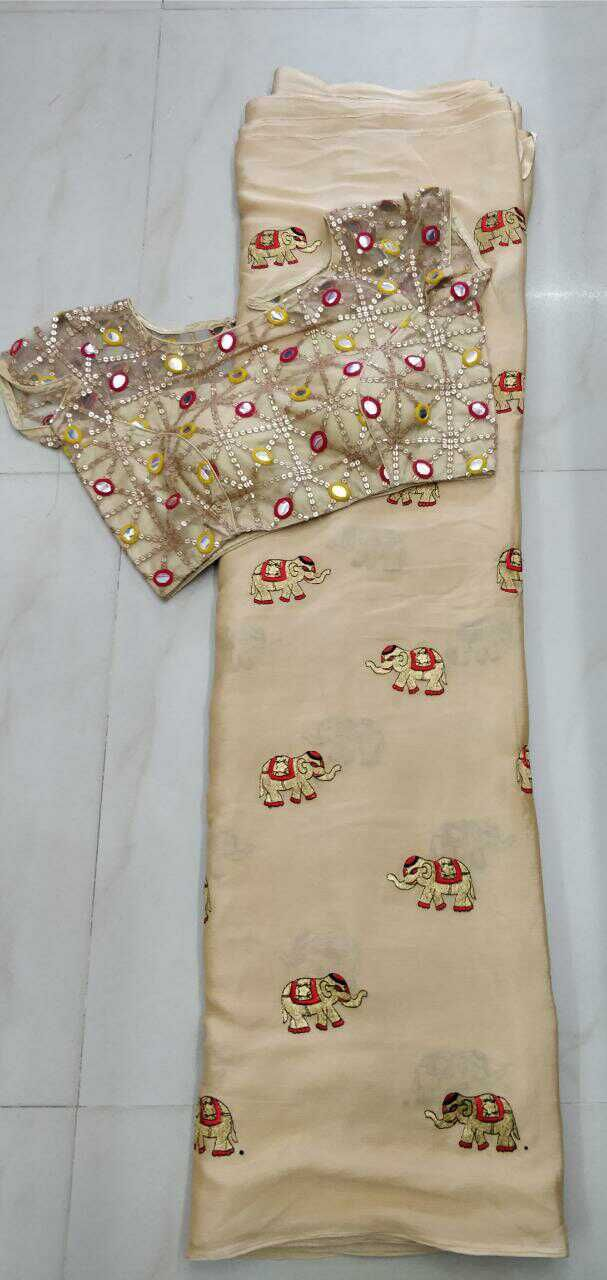Blouse size 32 to 38 saree length 5.5