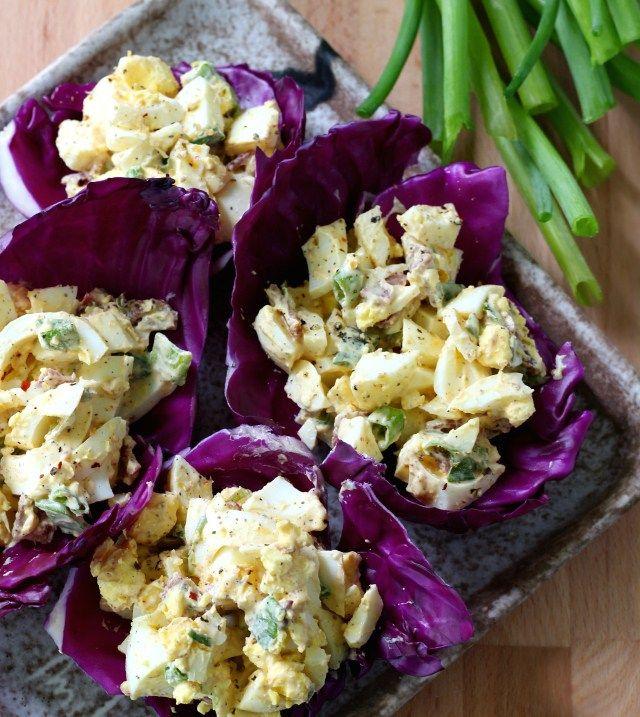 Insalata Piccante di pancetta e uova