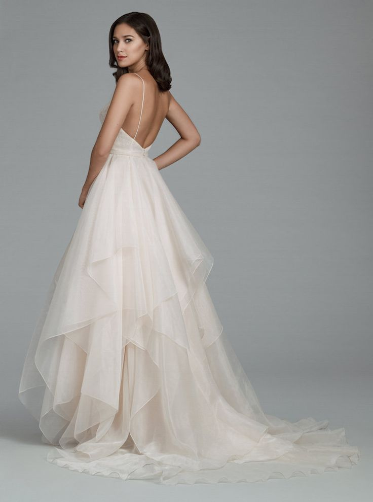 Courtesy of Tara Keely Wedding Dresses from JLM Couture