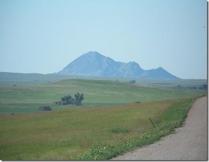 Bear Butte near Sturgis, South Dakota