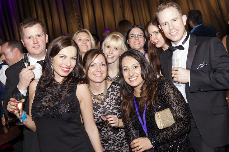 London Expedia holiday party. Now this team has style!