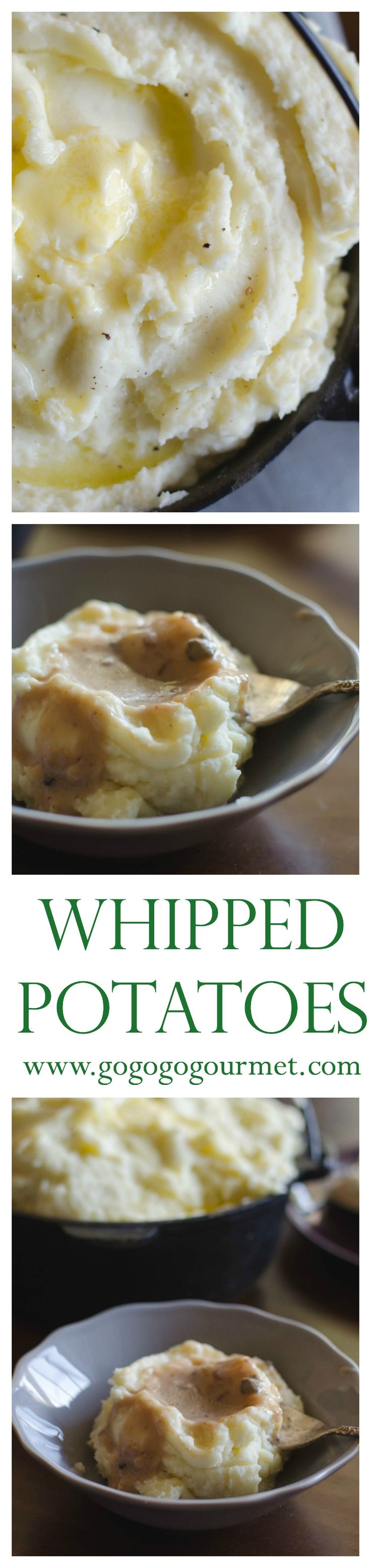 The SECRET INGREDIENT in my mashed potatoes is a home-run guarantee that you'll end up with the creamiest potatoes ever! Whipped Potatoes | Go Go Go Gourmet @gogogogourmet