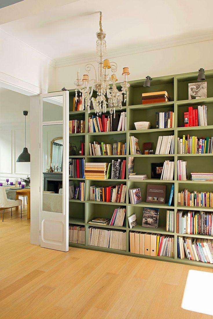 White and green contemporary family home | Daily Dream Decor