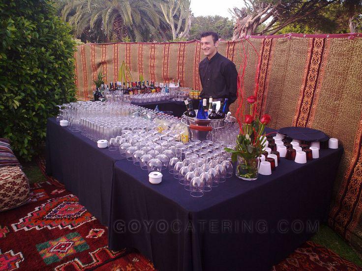 #Decora tu #boda: las mil y una noches. ----- #Decorate your #wedding: One Thousand And One Nights.    Goyo #Catering (2015) #Marbella #Malaga #Andalucia #Spain #Bar