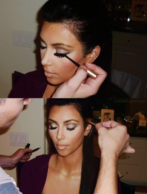 97 best Make Up: Inspired Kim Kardashian images on Pinterest