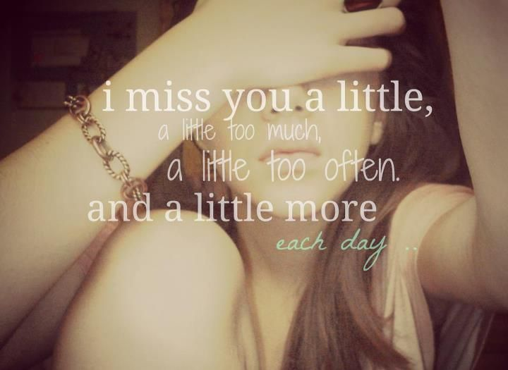 Get a collection of Miss you quotes,Quotes about miss you,Missing you quotes or miss you love quotes.For more miss you quotes images and missing you quotes pictures visit 8jig.com