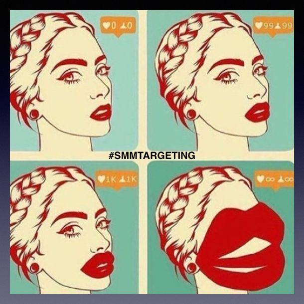 Добрый день, друзья Красота это СИЛА! Всем хорошего дня😃 Ставь ❤️ и 👍 в комментарий  SMM - Instagram, FB, YouTube, VK, OK. Targeting - Instagram, FB, VK, OK. Качественная и эффективная настройка рекламы в соц. сетях. ***** #SMM, #Target, #Targeting, #SMMTargeting #UaRicH #UaRicH_KN #СвоеДело #бизнес #кризис #инвестор #свобода #бизнесмен #предприниматель