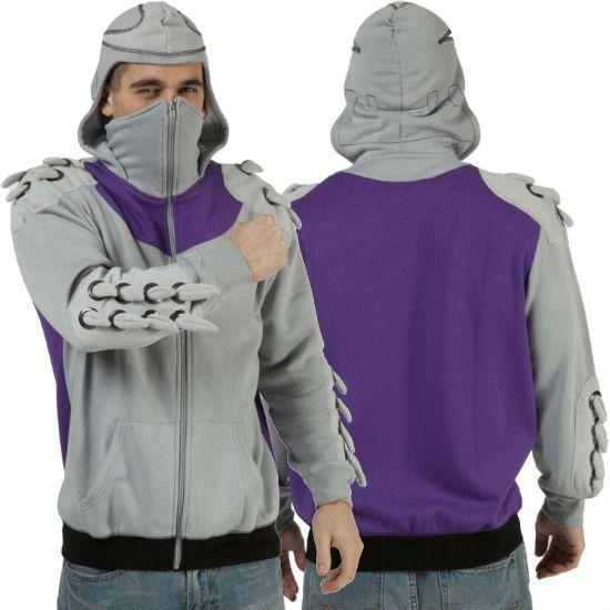 TMNT Teenage Mutant Ninja Turtle Shredder Costume Hoodie