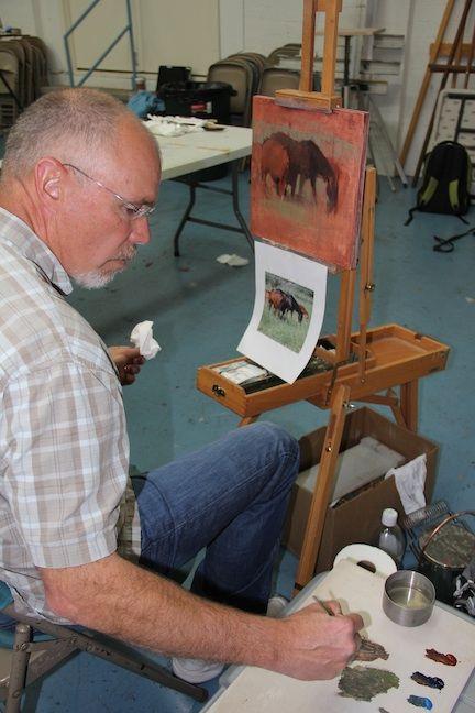 """My Week with Master Landscape Artist, Michael Workman""   Art & Fine Art Tips with Lori McNee"