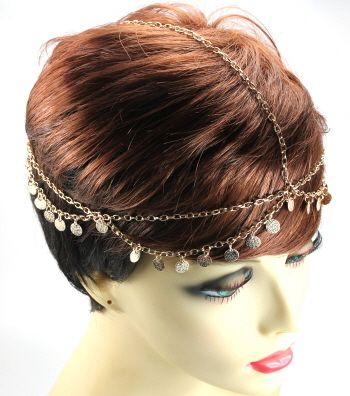 'SKY' DANGLE DRAPE HEAD CHAIN