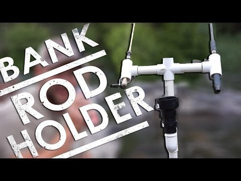 Make this PVC Fishing Rod Holder to fish from the bank! It cost less than $15 to make and is as reliable as one bought at the store! This rod holder works fo...