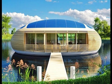Waternest Eco-Home Floating Golar Power Building. (House, Resort, Office...