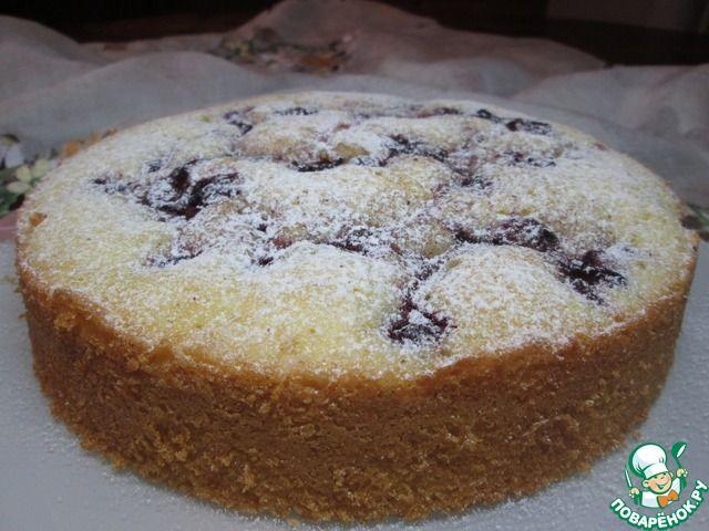 Венский пирог с вишней ингредиенты