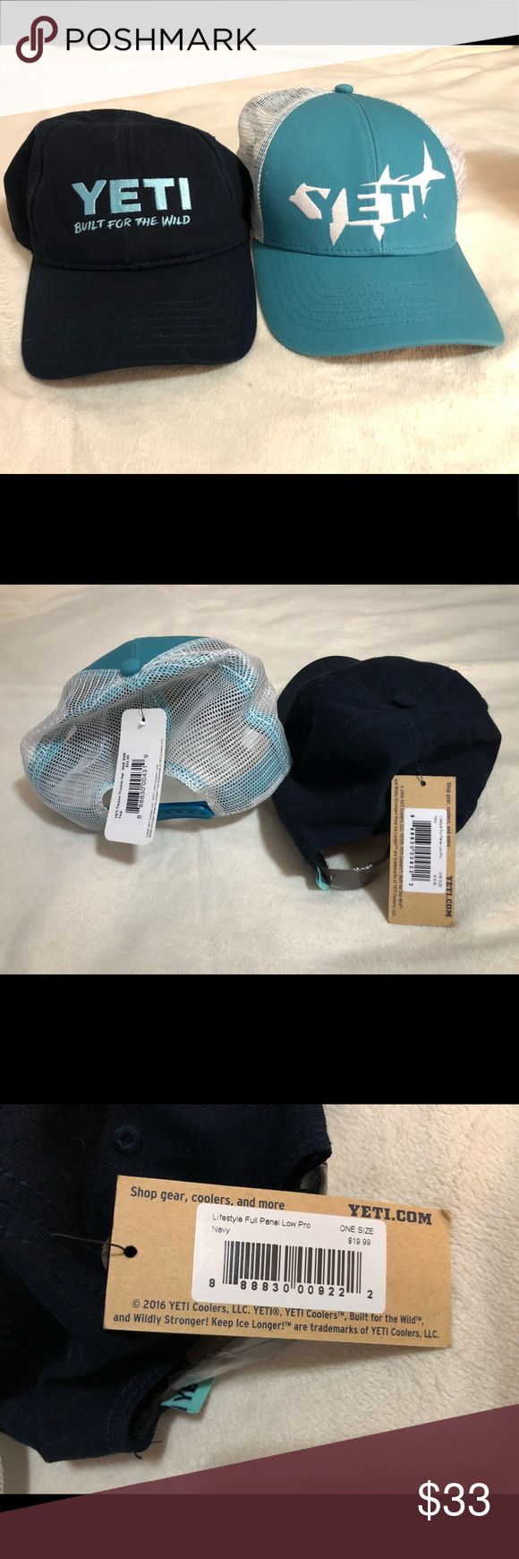 Yet hats ! NWT! Unisex Selling as set of two ! Brand new with tags ! yeti Accessories Hats