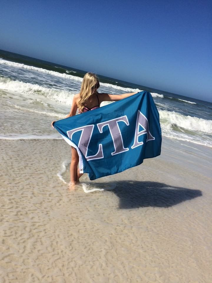 Taking a flawless flag picture despite the wind. TSM.