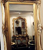 Gilded Reflection in a mirror. http://www.artgilding.com.au