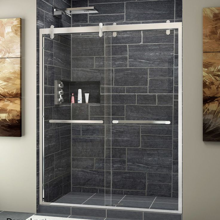 Cavalier 60 X 76 Bypass Single Sliding Shower Door