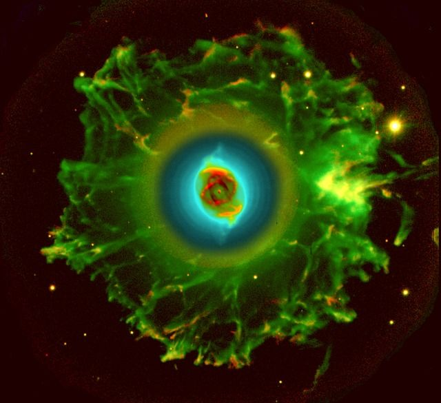 Immagine gratis su Pixabay - Nebulosa Occhio Di Gatto, Ngc 6543