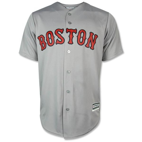 """Boston Red Sox Jason VaritekReplica Home Cool Base Jersey. 100% polyester replica home jersey with """"Boston"""" sewn on across the front and Varitek#33 on the bac"""