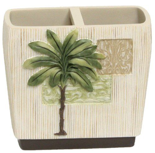 Bacova Citrus Palm Toothbrush Holder by Bacova Guild Baco…