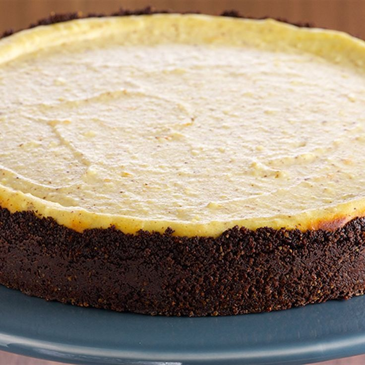 Try this biscotti Ricotta Cheesecake recipe by Chef Anna Olson. This recipe is from the show Bake With Anna.