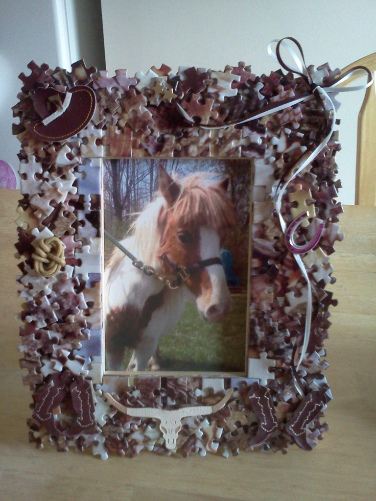 9 best images about puzzle frames on pinterest for Sell handmade crafts online free