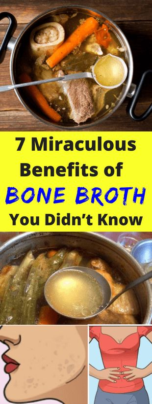 7 Miraculous Benefits of Bone Broth You Didn't Know -