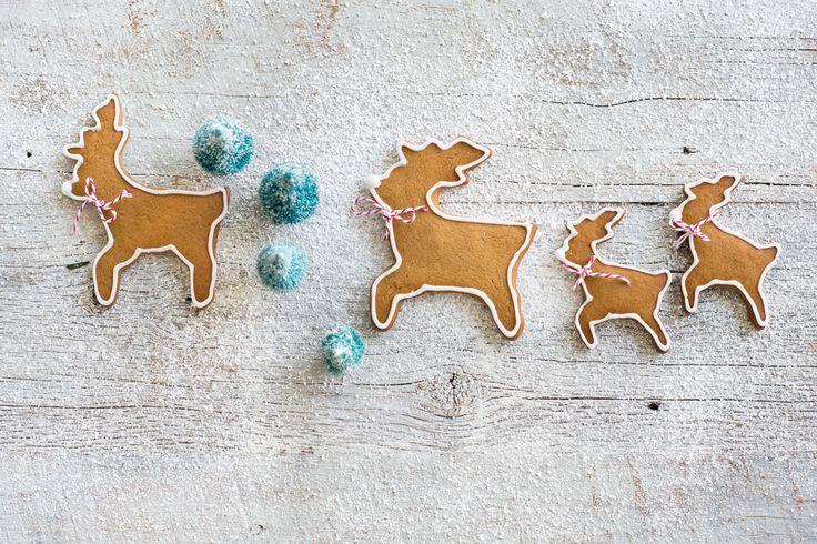 Prancing through the snow.... Norwegian Christmas biscuits (pepperkaker) from our Bakeproof columnist Anneka Manning