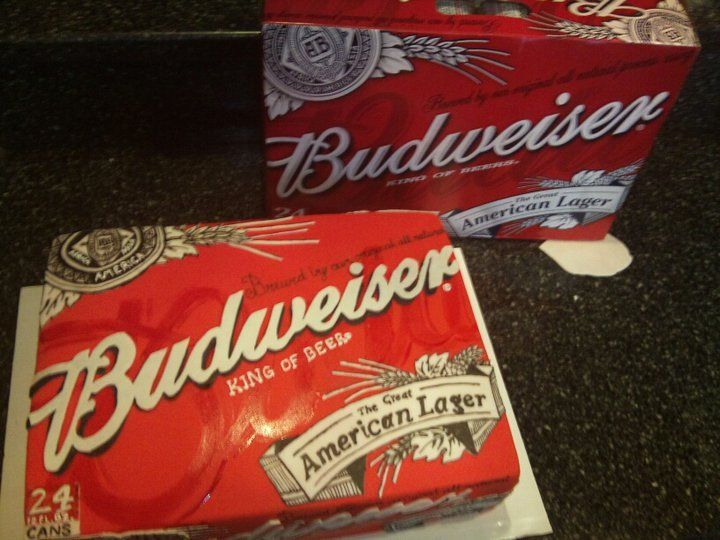 Budweiser cake - Totally cool!!!!