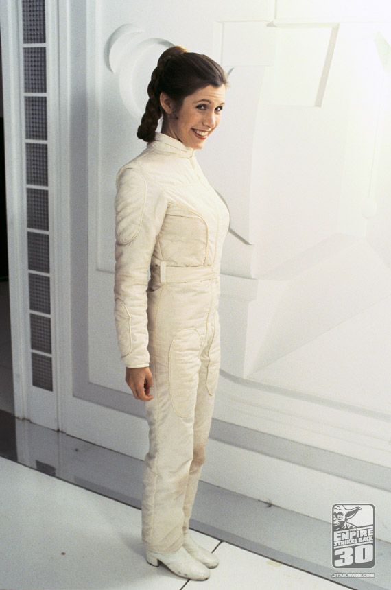 Star Wars: The Empire Strikes Back - Carrie Fisher Behind the Scenes as Princess Leia
