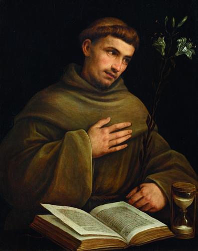 Sebastiano del Piombo (Luciani Sebastiano detto) - Sant'Antonio da Padova…