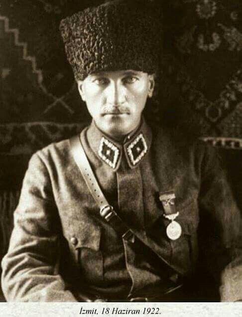 Gazi Mustafa Kemal Paşa izmit, 18 Haziran 1922