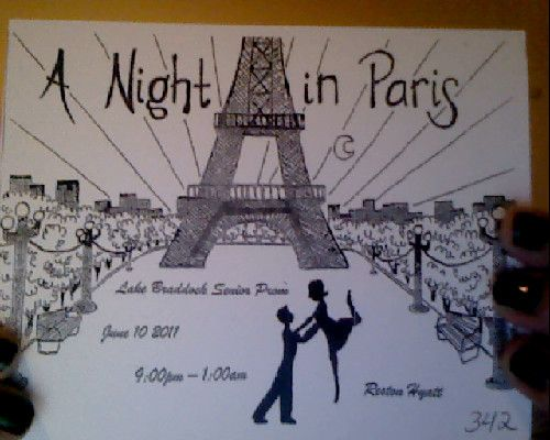 Midnight in Paris Prom Theme | so our prom theme is a night in paris . am i the only one that finds ...