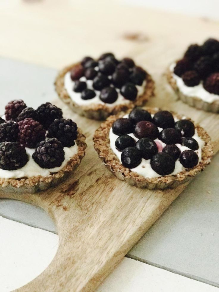 Recept: gezonde tartalettes met havermout en vers fruit
