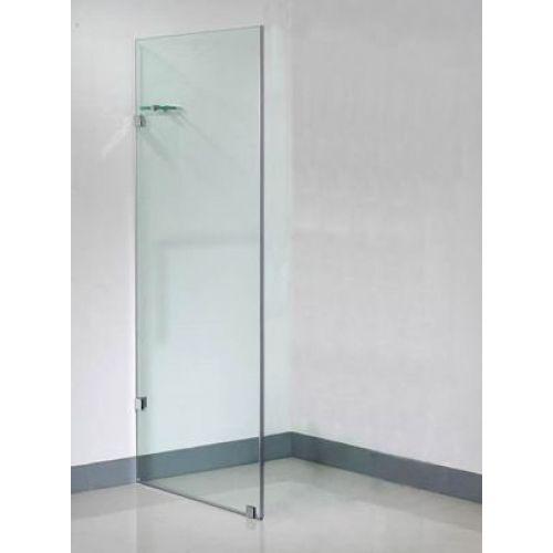 Frameless Glass Shower Screens Shower Screen Single Panel Bathroom Design Ideas Pinterest