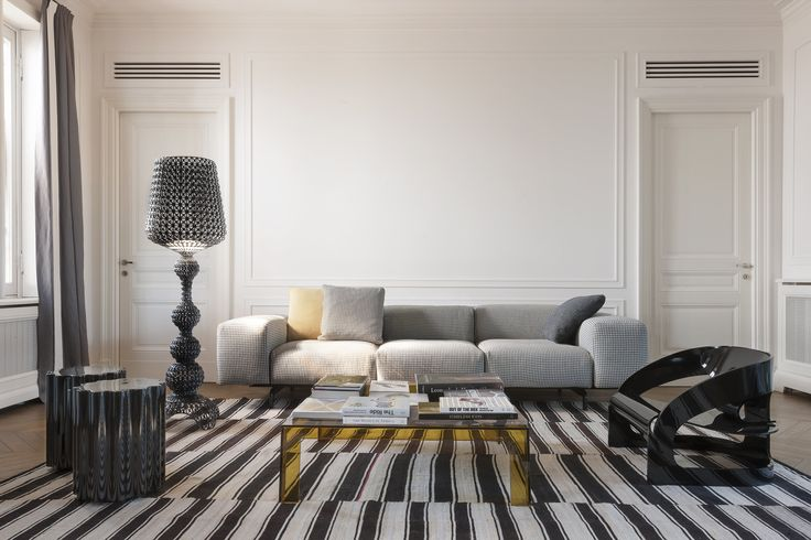 Couch goals // Largo Has Arrived - Kartell