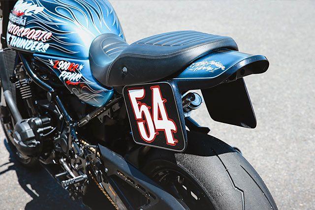 Mountain Biking Blue Thunder S Mean Kawasaki Z900rs Pikes Peak Special Blue Thunder Kawasaki Icon Motorsports