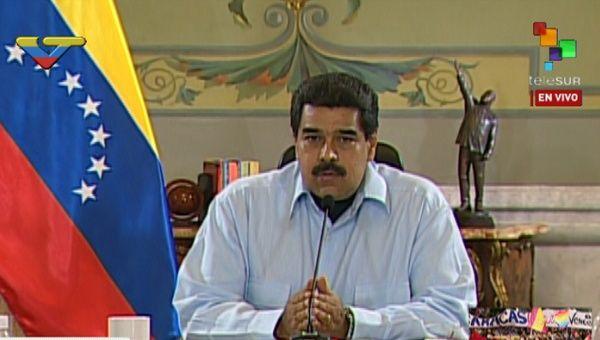 Nicolás de Maduro: Los tiempos de los golpe de Estado han vuelto, en tiempo de golpe de Estado más Revolución. | Foto: teleSUR
