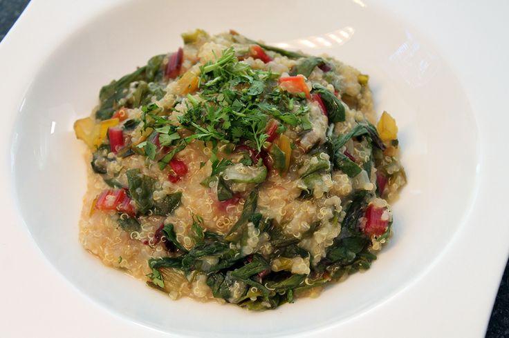 Rezept: Mangold-Quinotto für Spiegel TV | Projekt: Gesund leben | Ernährung, Bewegung & Entspannung